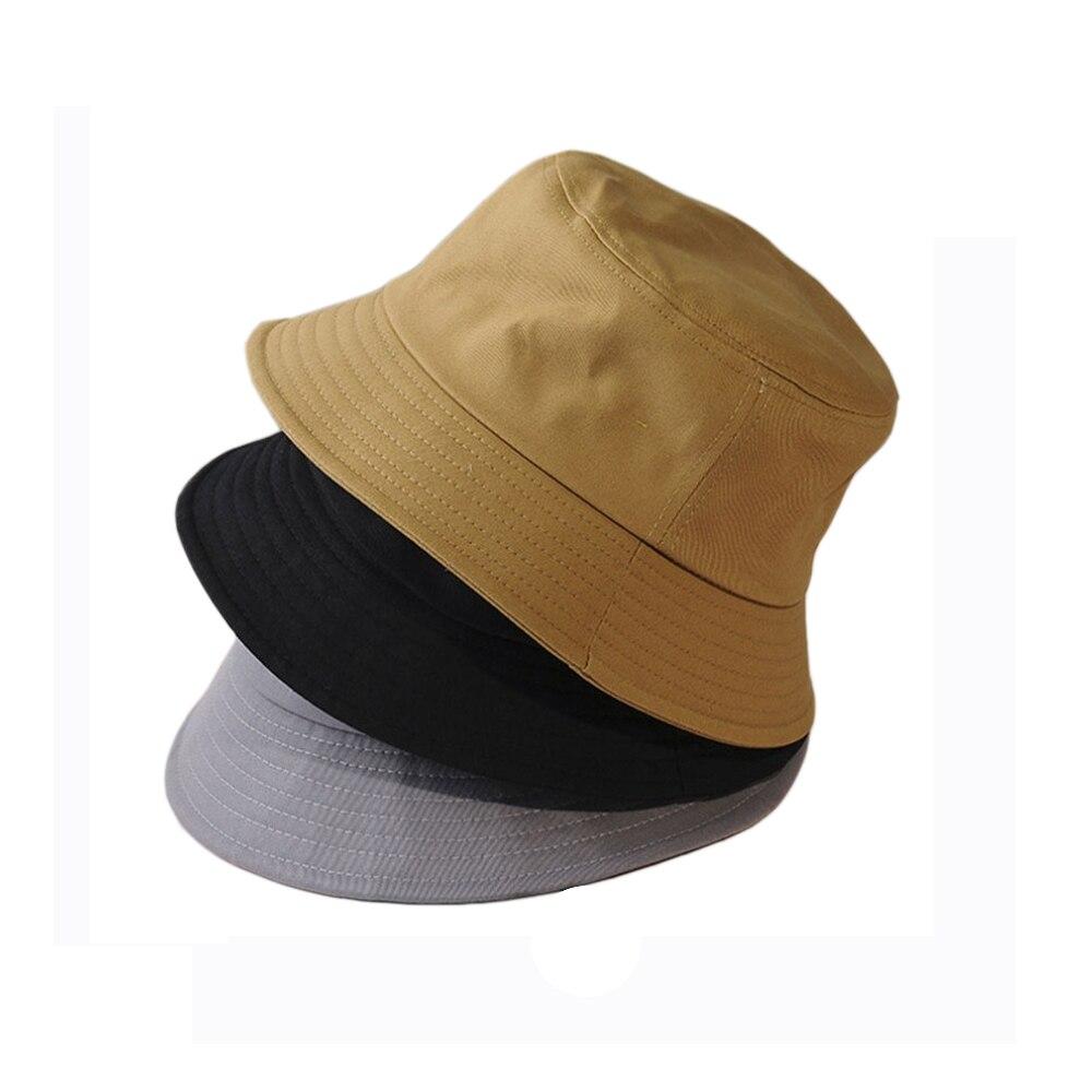 Spasil Unisex Summer Sunscreen Width Brim Bucket Hat Letter Patch UV Protection Caps Parent-Child Fisherman Chapeau Boys 1Piece