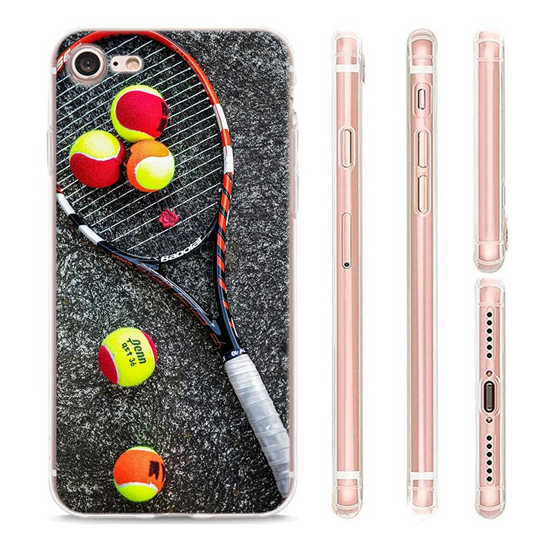 Sport Tennis Case For Apple iPhone SE 2020 11 Pro Max XR X XS 6 7 8 SE2 Plus Phone Cover Shell  - buy with discount