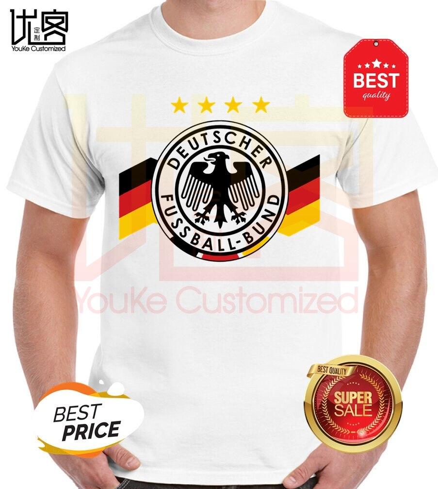 Deutschland German Flag Germany Eagle T Shirt men's women's 100% cotton short sleeves tops tee