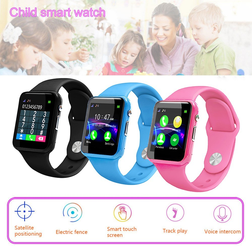 Anti Lost Smart Watch GPS Tracker SOS GSM SIM Phone Call Watches For Child Kids Watches Smart Watch For Kids
