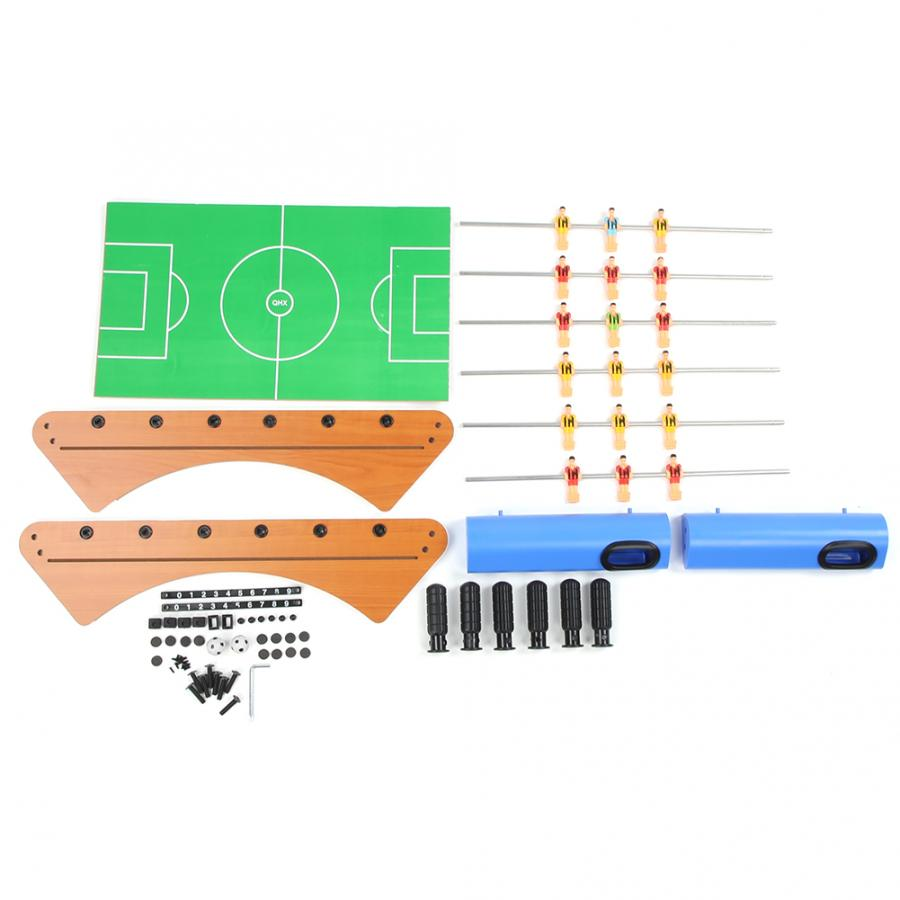 Table Football Soccer Game 6 Rods 7