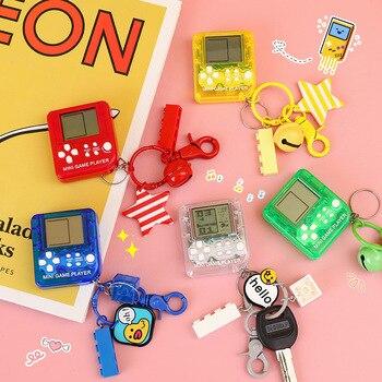 INS Mini Creative Game Console Keychain Russia Square School Bag Students Cool Gift Car Small Pendant|Schlüsseletui für Auto|   -