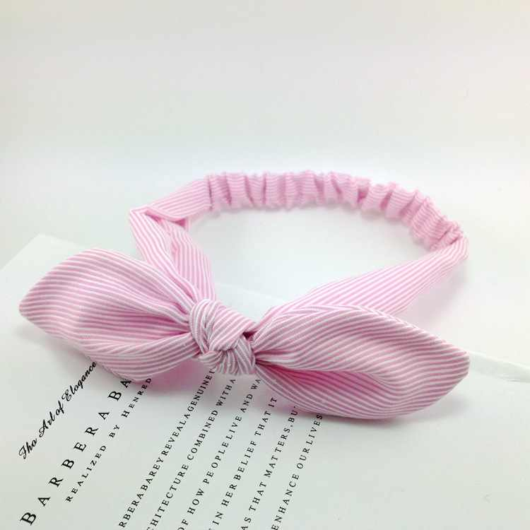Diadema de rayas de algodón de alta calidad para mujer, accesorios para el cabello