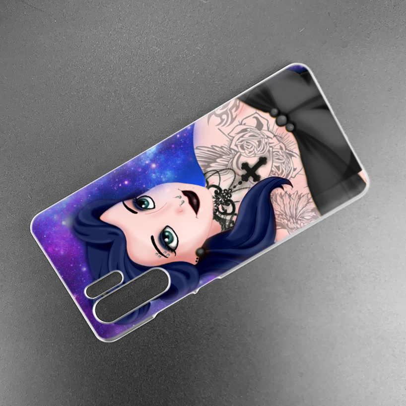 Funda de princesa Ariel La sirenita para Huawei Mate 30 20 10 P20 P30 Lite Pro P Smart Y9 Prime 2019 Honor 8A 8X 10i del teléfono de la PC