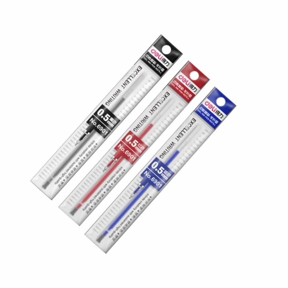 Recarga de substituição de recarga de caneta para canetas esferográficas e canetas de gel varas de assinatura de escritório para alças material escolar