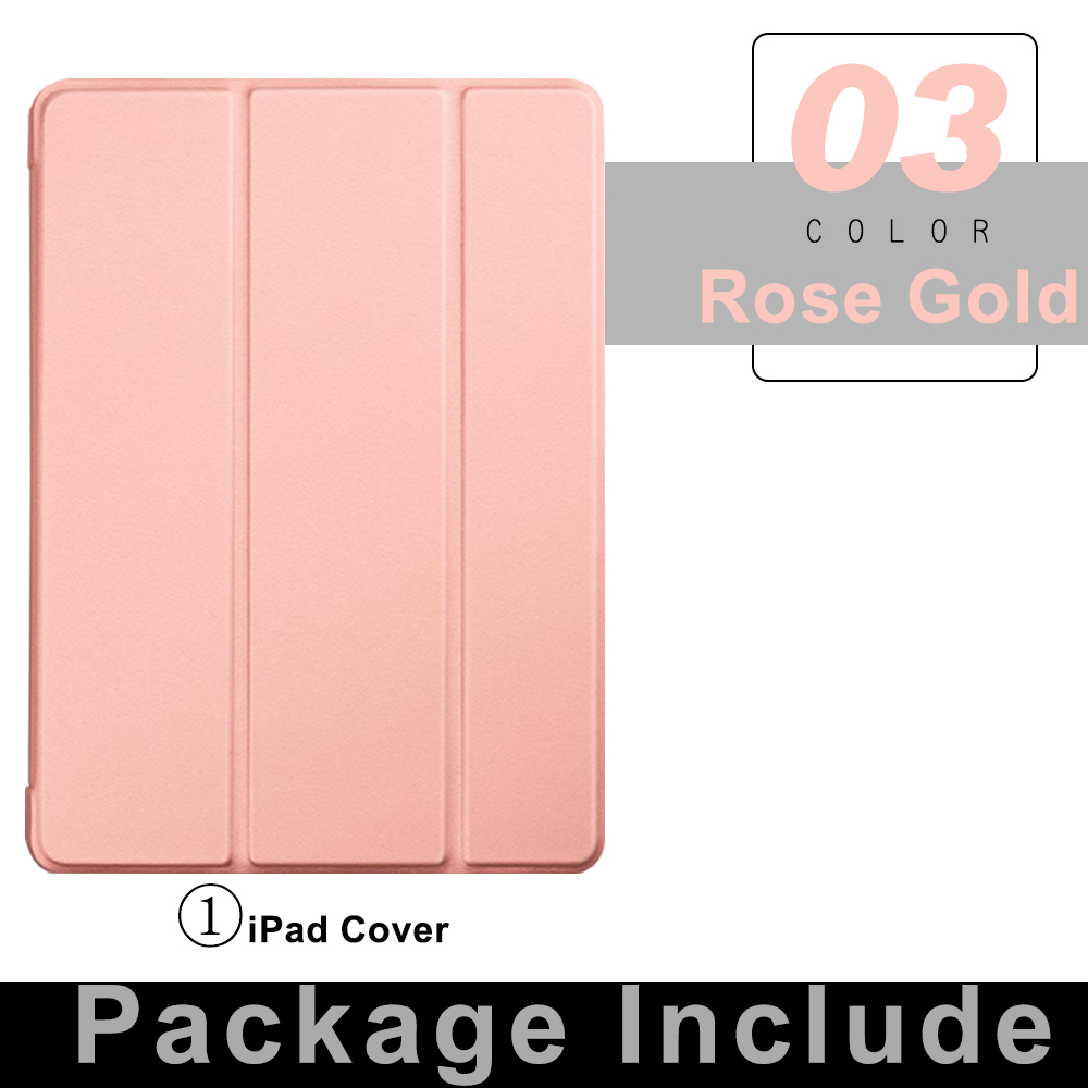 1 Rose Gold Pink For iPad Pro 11 Flip Tablet Case 2021 Stand Smart Cover Funda For iPad pro 11