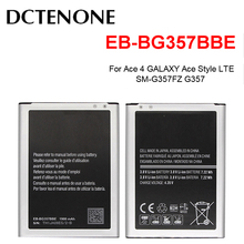 DCTENONE Phone Battery EB-BG357BBE 1900mAh For Samsung Ace 4 GALAXY Ace Style LTE SM-G357FZ G357 Replacement Batteries mallper replacement 3 7v 1200mah li ion battery for samsung galaxy ace s5830 orange