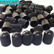 100 шт./лот бескамерные колпачки для Пневматического клапана, колпачки для автомобильных шин, колпачки для автомобильных грузовых велосипедов, MTB пылезащитные крышки от пыли