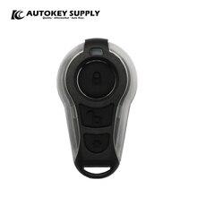 DEFENDERTECH שועל למעלה Alarme Automotivo מפתח מעטפת לבן AutokeySupply AKBPS111