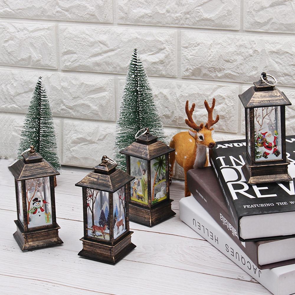 Горячие рождественские украшения для дома светодиодный 1 шт. Рождественская свеча с светодиодный свет чая свечи для Рождественского украшения# N