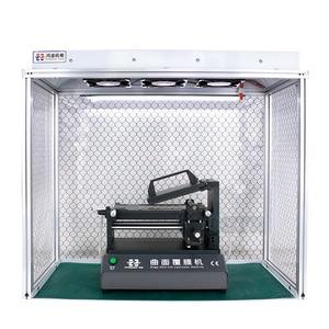 Image 4 - Nieuwste Stof Gratis Room Desk Reinigen Anti Statische Aluminium Legering Stof Gratis Bench Voor Lcd Renovatie Telefoon Reparatie Apparatuur