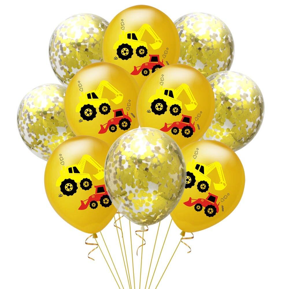 12 Inch Truck Balloons Happy Birthday Decoration Boy Favors Latex Balloon Birthday Party Decorations Kids Birthday Ballons in Ballons Accessories from Home Garden