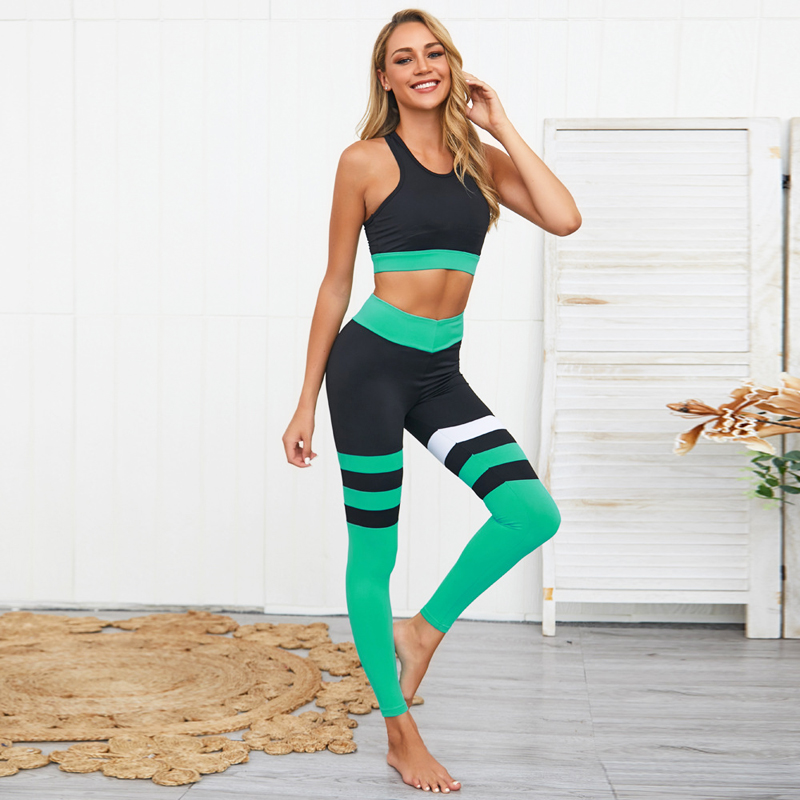 Yoga Workout Outfits for Women 2 Piece Set