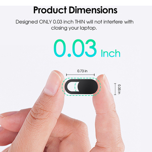 Image 2 - YKZ Mobile Phone Privacy Sticker WebCam Cover Shutter Magnet Slider Plastic For iPhone Web Laptop PC iPad Tablet Camera Cover