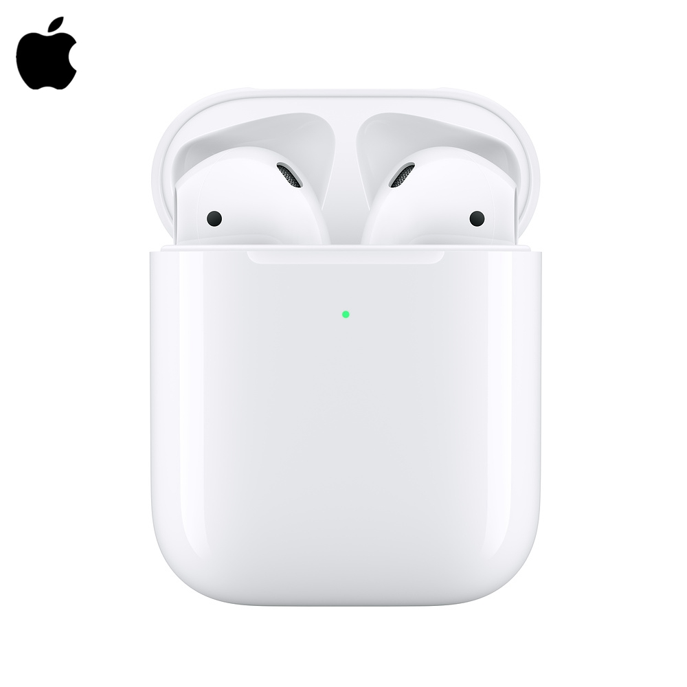 Original de los AirPods de Apple 2nd auriculares Bluetooth con funda de carga inalámbrica para iPhone iPad MacBook Apple iPod reloj QI 10W carga rápida 3 en 1 cargador inalámbrico para Iphone 11 Pro cargador Dock para Apple Watch 5 4 Airpods Pro soporte de carga inalámbrica