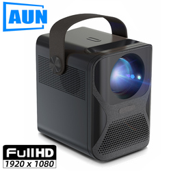 AUN ET30 Full HD Projector 1920x1080P Android WIFI MINI Projector for Home Theater Phone LED Video Beamer 4k Decoding 7800mAH