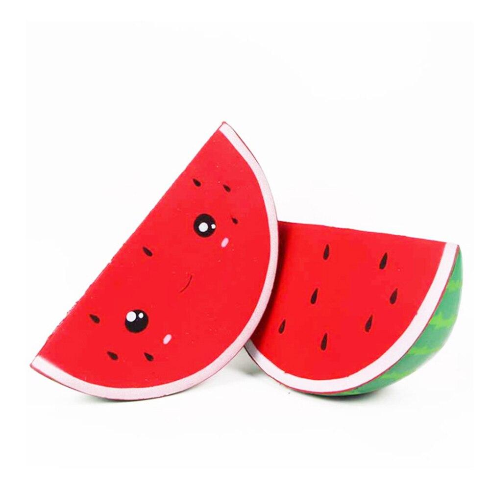Fidget-Toys Watermelon Anti-Stress Squishy Kids Simple Dimpl Gift Slow-Rebound PU Smiley img2