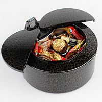 Intelligent Induction Storage Box Ladybug Desktop Trash Home Mini Storage Bucket with Auto Opening Sensor for Wedding Christmas