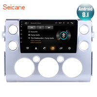 Seicane 9 Full Touchscreen Android 8.1 for 2007 2018 Toyota FJ CRUISER Car Stereo GPS Navigation Bluetooth 3G WiFi DVR DAB+ SWC
