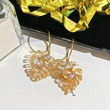 2019 Big Vintage Water Drop Earrings for Women Fashion Hollow Alloy Trendy Bohemian Female Brincos Boho Dangle Eardrop Earrings цена