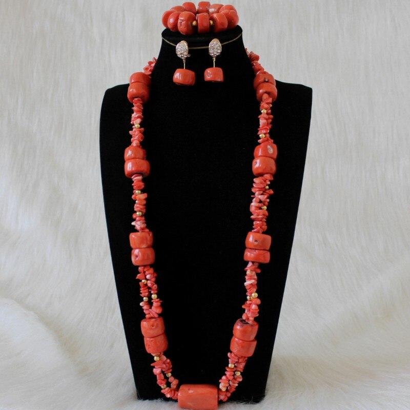 4 ujewelry 100% contas coral originais conjunto