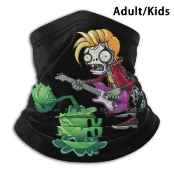 Plants Vs Zombies | Zombie Metalhead Scarf Mask Neck Warmer Face Wraps Foulard Bandana Mascarillas Plants Vs Zombies Plants Vs image