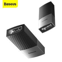 Baseus HDMI Extender 4K HDMI 2,0 Erweiterung Converter Buchse auf Buchse Adapter Für PS4 TV Laptop Kabel HDMI erweiterung