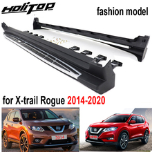 Passo laterale nerf bar esecuzione di bordo per Nissan X-trail Rogue 2014-2020, \