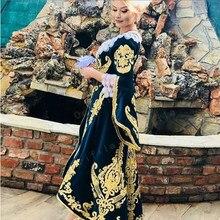 Vestidos De Novia De albaneses De Kosovo Caftan Noche Vestidos 2021 manga larga apliques Robe De Soirée De Mariage Vestidos