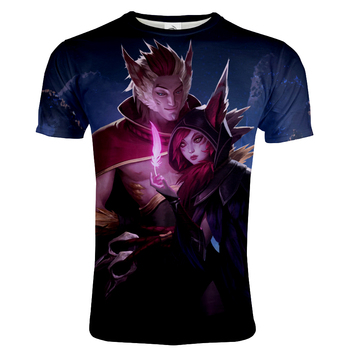 2021 Game Style T-shirt LOL league of legends 3D Printed Tshirt Men Women Casual O-Neck Streetwear T shirt Fashion Hip Hop Tops 2