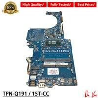 For HP PAVILION TPN Q191 15 CC 15T CC laptop motherboard DAG71MB16D0 i3 7100U 927266 601 927266 001 927266 501 Mainboard