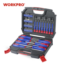 WORKPRO 55PC Screwdriver Set Precision Screwdrivers Set Screwdriver for Phone Screw driver Bits