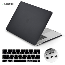 Lention Laptop case for MacBook Air 13-inch, with Thunderbolt 3 Ports, Model A1932, comes Keyboard Cover and Port Plugs