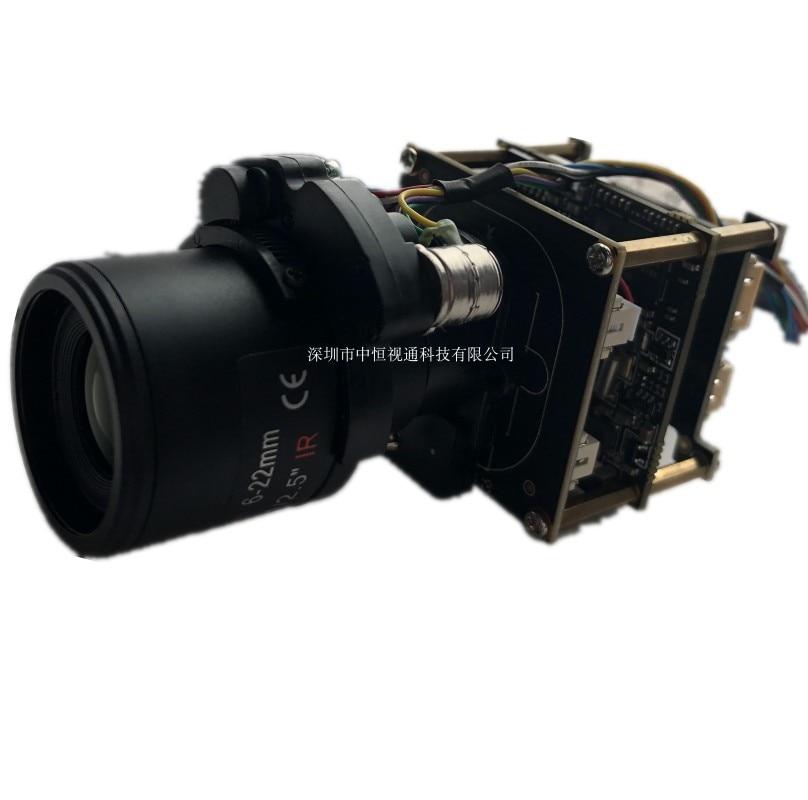 4K Face Capture Camera Module 3516AV200 IMX334 IMX415 Electric Zoom Module