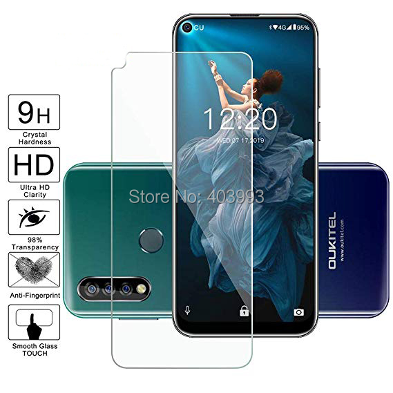 For Oukitel C17 Pro Tempered Glass For Oukitel C17 Pro Protective Film Screen Protector Cover Case Phone For Oukitel C17 Pro