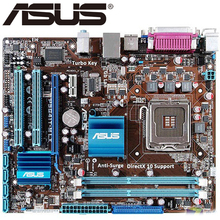 Asus P5G41T-M LX настольная G41 материнская плата с разъемом LGA 775 Q8200 Q8300 DDR3 8G u ATX UEFI биос оригинальная б/у материнская плата в продаже