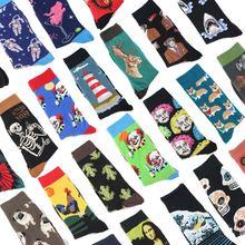 2019 модные мужские носки в стиле хип хоп Веселые Харадзюку