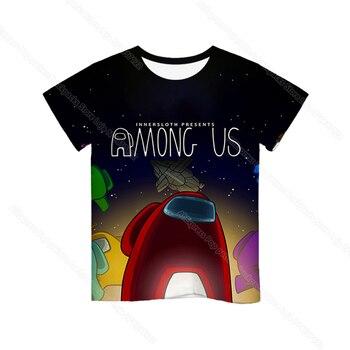 Cartoon Tee  Baby Kids Boys Girls Children Short Sleeves Summer Clothing Fashion 3d Print Toddler Camiseta 36