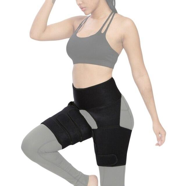 Waist Protector Thigh Burst Sweat Belt Thigh Slim Slimming Belt Trimmer Leg Shapers 2