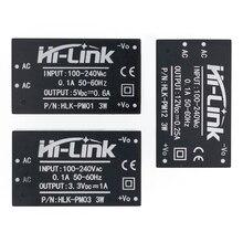 10 pz/lotto HLK PM01 HLK PM03 HLK PM12 AC DC 220V a 5V mini modulo di alimentazione, per la casa intelligente interruttore di alimentazione del modulo