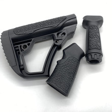 Toy-Gun Ball Front-Grip Butt-Stock Tactical-Gel Activity Nylon AEG with Coated High-Quality