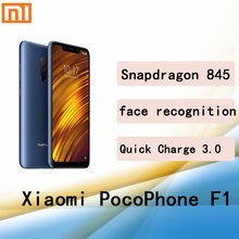 Xiaomi poco f1 smartphone googleplay teléfono móvil Snapdragon 845 6G 128G 2246*1080 pixel