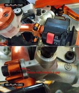 Image 5 - Guidão da motocicleta freio cilindro mestre braçadeira capa para suzuki DR Z 400 e s sm dr 250r rmz 250 450 GSX R 600 750 1000 gsx 650