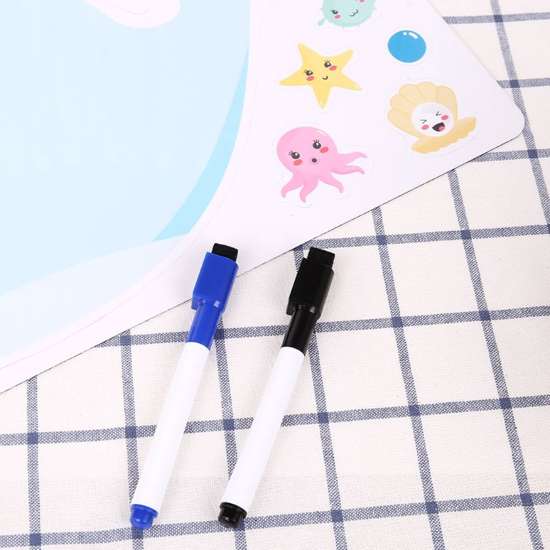 Whale Soft Magnetic Whiteboard Magnet Erase Board Drawing Refrigerator Calendar W91A