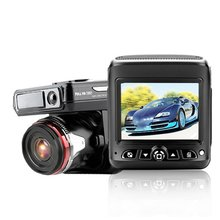 HD 2.4 Inch Car Driving Recorder Vehicle Camera Wide Angle Driving Recorder Dash Cam Dual Lens Night Vision Driving Recorder