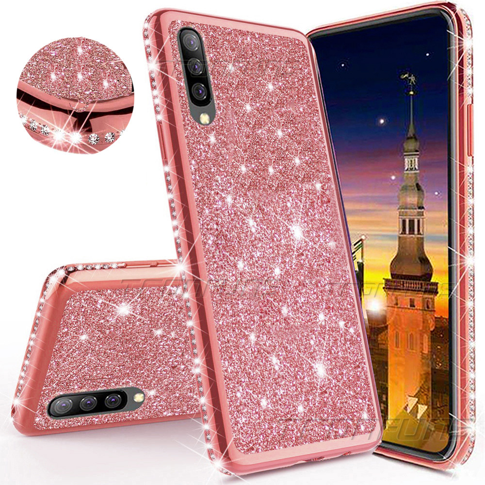 <font><b>Glitter</b></font> Diamond <font><b>Case</b></font> For <font><b>Huawei</b></font> P30 <font><b>P20</b></font> P Smart Z Plus Y5 Y6 Y7 Y9 2019 Honor 20i 10i 8C 8X 8A 8S Mate 30 20 <font><b>Lite</b></font> Pro Soft Cover image