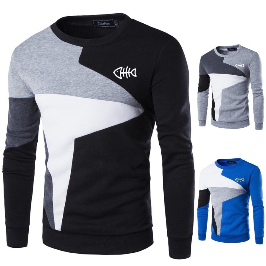 ZOGAA Men's Hoodies 2019 Spring Autumn New Man Sweatshirts Homme Streetwear Men Clothing Funny Print Male Tops Casual Pullovers