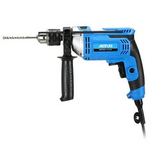 Multifunctional 220V Adjustable Speed Electric Impact Drill Electric Hammer Dual-use Positive Negative Rotation Tool