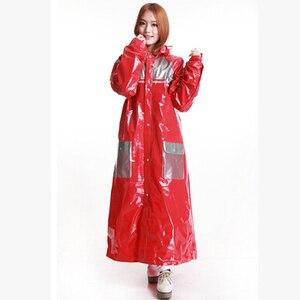 Толстые большие непромокаемые костюмы для женщин и мужчин, водонепроницаемая куртка из ПВХ для улицы, переносные дождевики, ветровка, дожде...