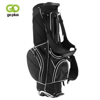 Golf Stand Cart Bag with 6-Way Divider Carry Pockets Golf Rack Bag Mens Women Standard Ball Club Bag Portable Large Capacity 1
